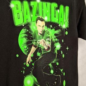 Big Bang Theory Sheldon TShirt Bazinga